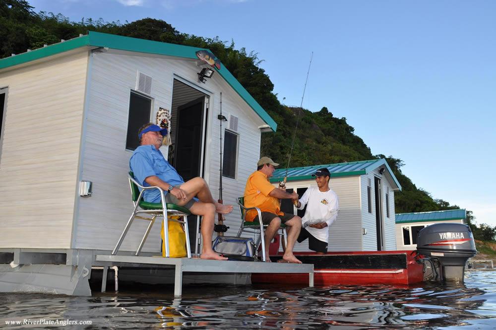 Floating Cabins Lodge Amazon Fly Fishing